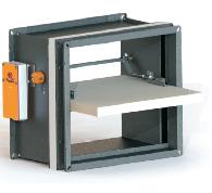 KWP-P-E – rectangular duct smoke extract dampers — O2
